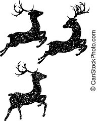 Cartoon Ornamental Deer