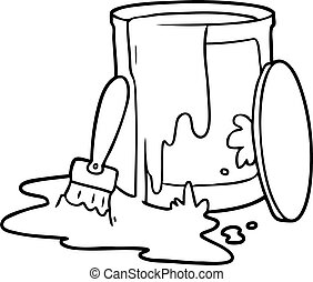 paint bucket clipart and stock illustrations 6 406 paint bucket rh canstockphoto com  clipart paint bucket design