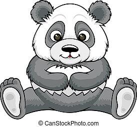cartoon panda 01