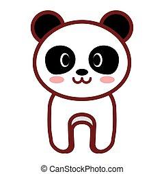 cartoon panda animal image