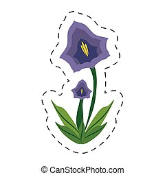 cartoon pansy flower spring image