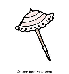 cartoon parasol