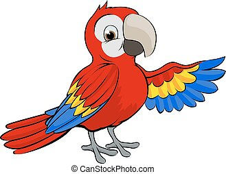 red parrot clip art and stock illustrations 3 149 red parrot eps rh canstockphoto com parrot clip art black and white parrot clipart gif