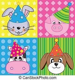 cartoon party animal