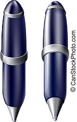 Cartoon pen icon