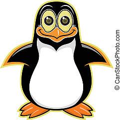 cartoon penguin 01