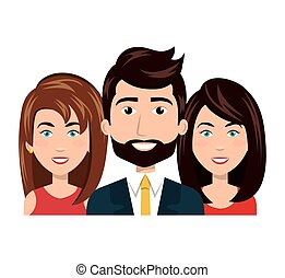 cartoon people resources human group team