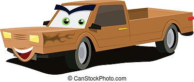 Cartoon Pick-up Character