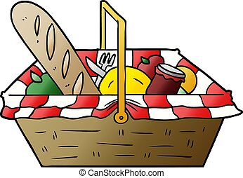 picnic basket illustrations and clipart 2 588 picnic basket royalty rh canstockphoto com clipart picnic clipart picnic food