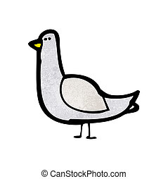 cartoon pigeon