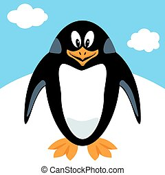 Cartoon pinguin