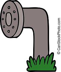 cartoon pipe