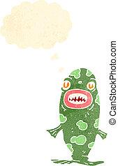 cartoon piranha