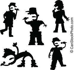 Cartoon Pop Singers