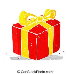 cartoon present