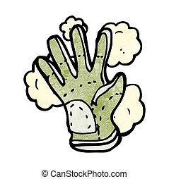 cartoon protective glove