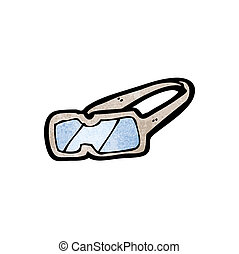 cartoon protective goggles