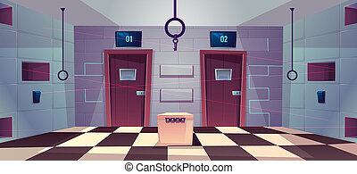 cartoon quest, escape room with doors