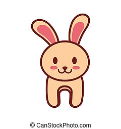 cartoon rabbit animal image