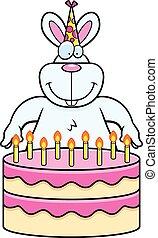 Cartoon Rabbit Birthday