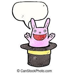 cartoon rabbit in hat