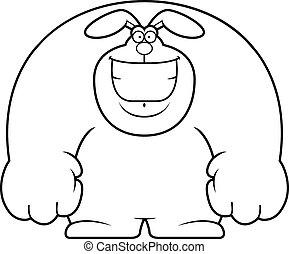 Cartoon Rabbit Smiling