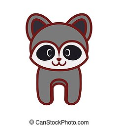 cartoon raccoon animal image