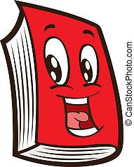 cartoon red book