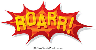 cartoon - roar (comic book)