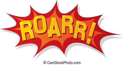 cartoon - roar (comic book)