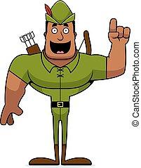 Cartoon Robin Hood Idea