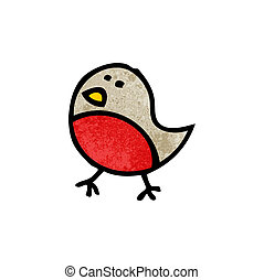 cartoon robin symbol
