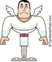 Cartoon Sad Cupid