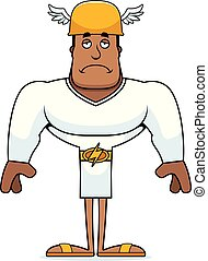 Cartoon Sad Hermes
