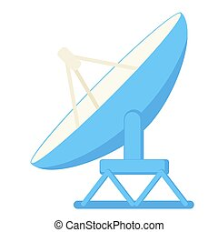 Cartoon satellite antena