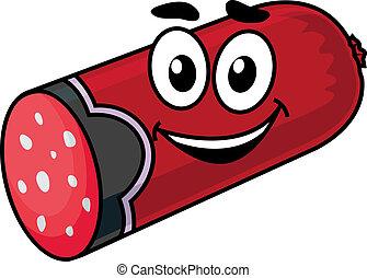 Cartoon sausage
