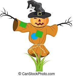 Cartoon Scarecrow Fantasy Character