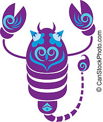 scorpio constellation - cartoon scorpio constellation.