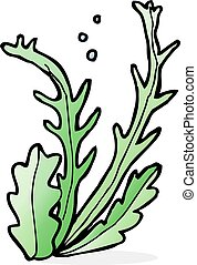 cartoon seaweed
