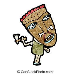 cartoon shaman