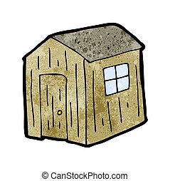 cartoon shed