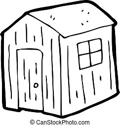 cartoon shed