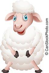 Cartoon sheep