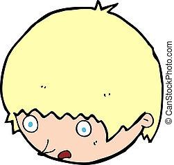 cartoon shocked face