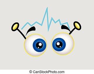 Cartoon Signal Eyes