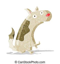 cartoon sitting dog