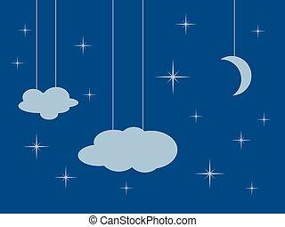 Cartoon sky