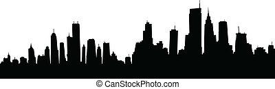 Cartoon Skyline