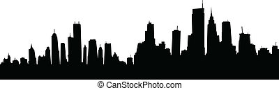 Cartoon Skyline
