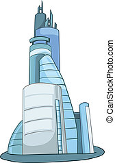 Cartoon Skyscraper